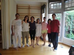 a Curso Intensivo Formacion Instructoras Yoga Nidra Mindfulness Barcelona Grupo GR