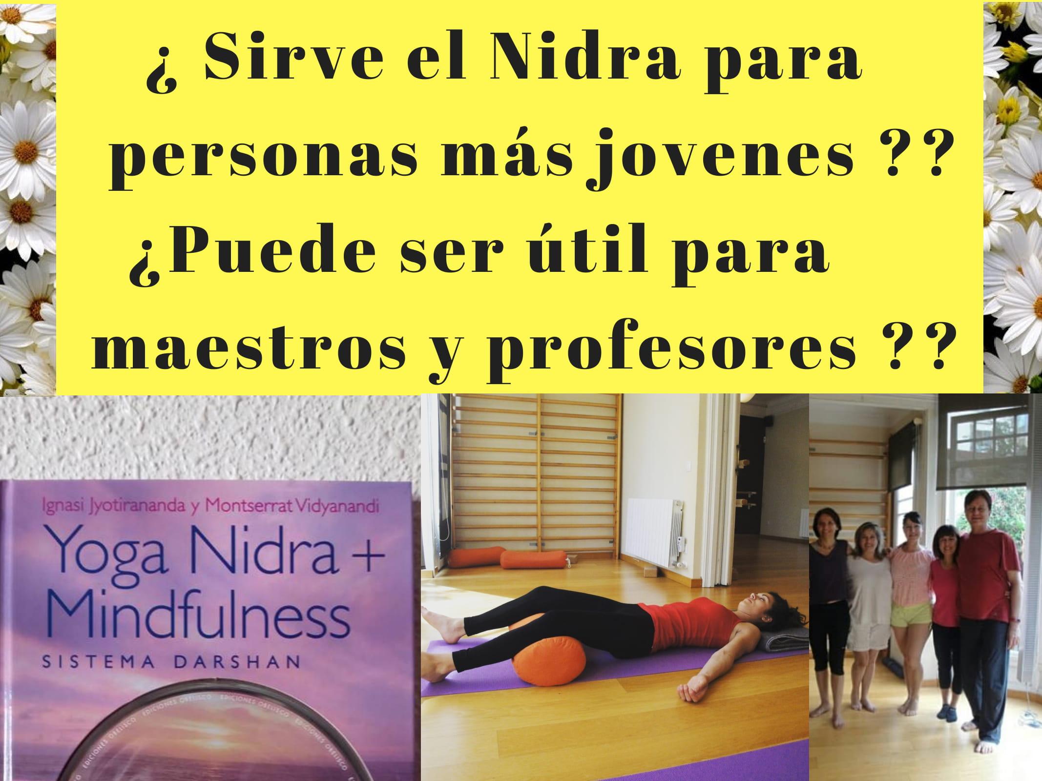 Formacio de Ioga Nidra Mindfulness per a professors i mestres d escola o institut
