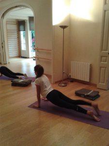 a yoga pilates barra plaza gala placidia molina lesseps barcelona